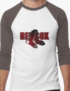 Red Sox Logo Men's Baseball ¾ T-Shirt