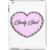 Girly Girl iPad Case/Skin