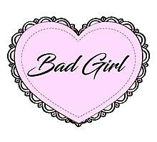 Bad Girl Photographic Print