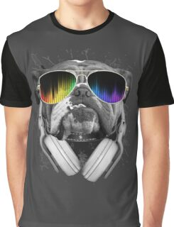 Bulldog DJ Graphic T-Shirt