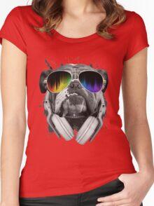 Bulldog DJ Women's Fitted Scoop T-Shirt