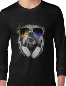 Bulldog DJ Long Sleeve T-Shirt