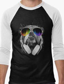 Bulldog DJ Men's Baseball ¾ T-Shirt