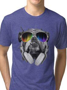 Bulldog DJ Tri-blend T-Shirt