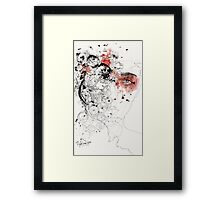 Cold and Passion Framed Print