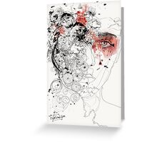 Cold and Passion Greeting Card
