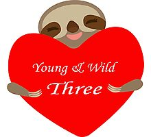 Young Wild Three  Photographic Print