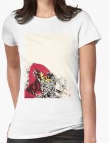 Masquerade Mask Womens Fitted T-Shirt
