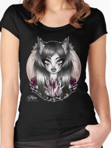 Child of the Moon. Women's Fitted Scoop T-Shirt