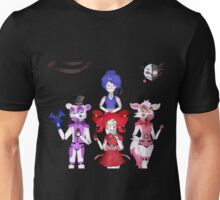 FNAF Sister Location Gang Unisex T-Shirt