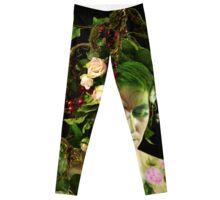 Waldelfe, fairy in the woods Leggings