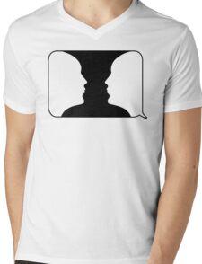 Talk to Me Mens V-Neck T-Shirt