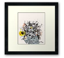Bubble Relations Framed Print