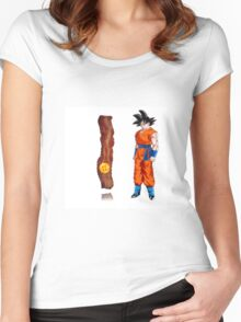 goku has to get the dragonball Women's Fitted Scoop T-Shirt