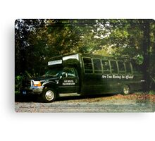 When You Really Need a Bus! Metal Print