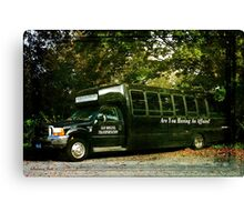 When You Really Need a Bus! Canvas Print