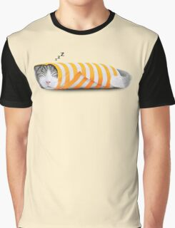 Cat in the paper Graphic T-Shirt