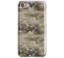 Desert Camouflage Marble Pattern iPhone Case/Skin
