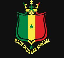 Made In Dakar Senegal Flag T-Shirt Unisex T-Shirt