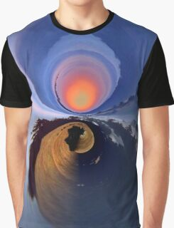 Into the Circular Depths Graphic T-Shirt