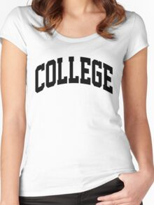COLLEGE Education Women's Fitted Scoop T-Shirt