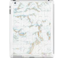USGS TOPO Map Alaska AK Valdez B-8 360331 1960 63360 iPad Case/Skin