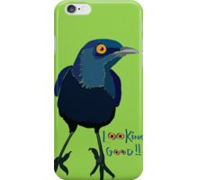 Glossy Starling iPhone Case/Skin