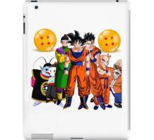 goku and the gang iPad Case/Skin