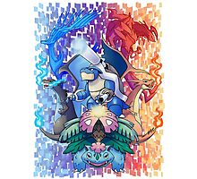 Pokemon XY Mega Evolutions Photographic Print