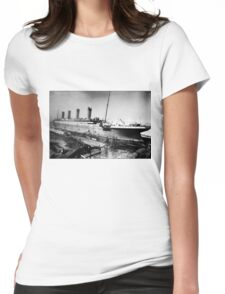 Titanic Vintage Womens Fitted T-Shirt