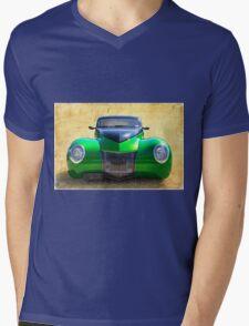 Wide Eyes Mens V-Neck T-Shirt