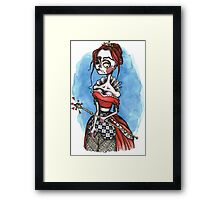 From The Heart Of The Matter Framed Print