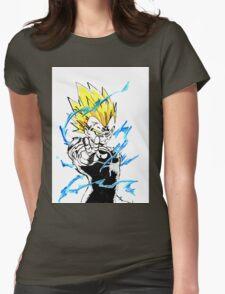 Majin Vegeta Womens Fitted T-Shirt