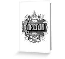 Carlton Greeting Card