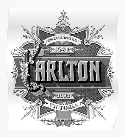 Carlton Poster