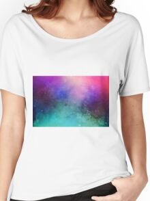 Mystical azure galaxy Women's Relaxed Fit T-Shirt