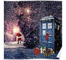 Tardis Christmas Poster