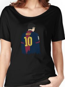 -SPORTS- Messi's Back Women's Relaxed Fit T-Shirt