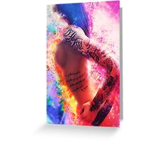 Cosmic Sexy Collection - Pinup #5 Greeting Card