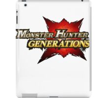 Monster Hunter Generations  iPad Case/Skin