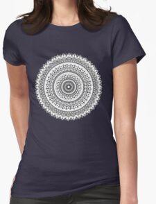 Vintage Mandala Womens Fitted T-Shirt