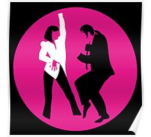 -TARANTINO- Pulp Fiction Dance Poster