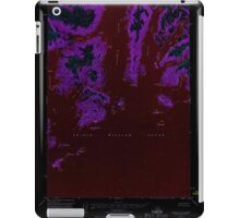 USGS TOPO Map Alaska AK Seward D-2 358987 1951 63360 Inverted iPad Case/Skin