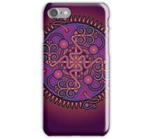 Unique abstract poster designs-Cell penetration iPhone Case/Skin