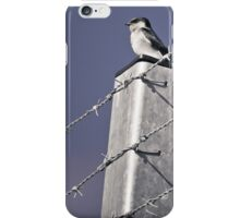 Birds - On the fence iPhone Case/Skin