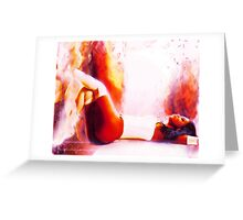 Cosmic Sexy Collection - Pinup #7 Greeting Card