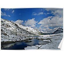 Scheidsee (Verwall Mountains) Poster