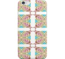 Pink Petal and Geometric  iPhone Case/Skin