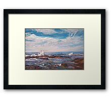 The Lonely Sea & The Sky Framed Print