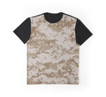 Digital Desert Camo Graphic T-Shirt